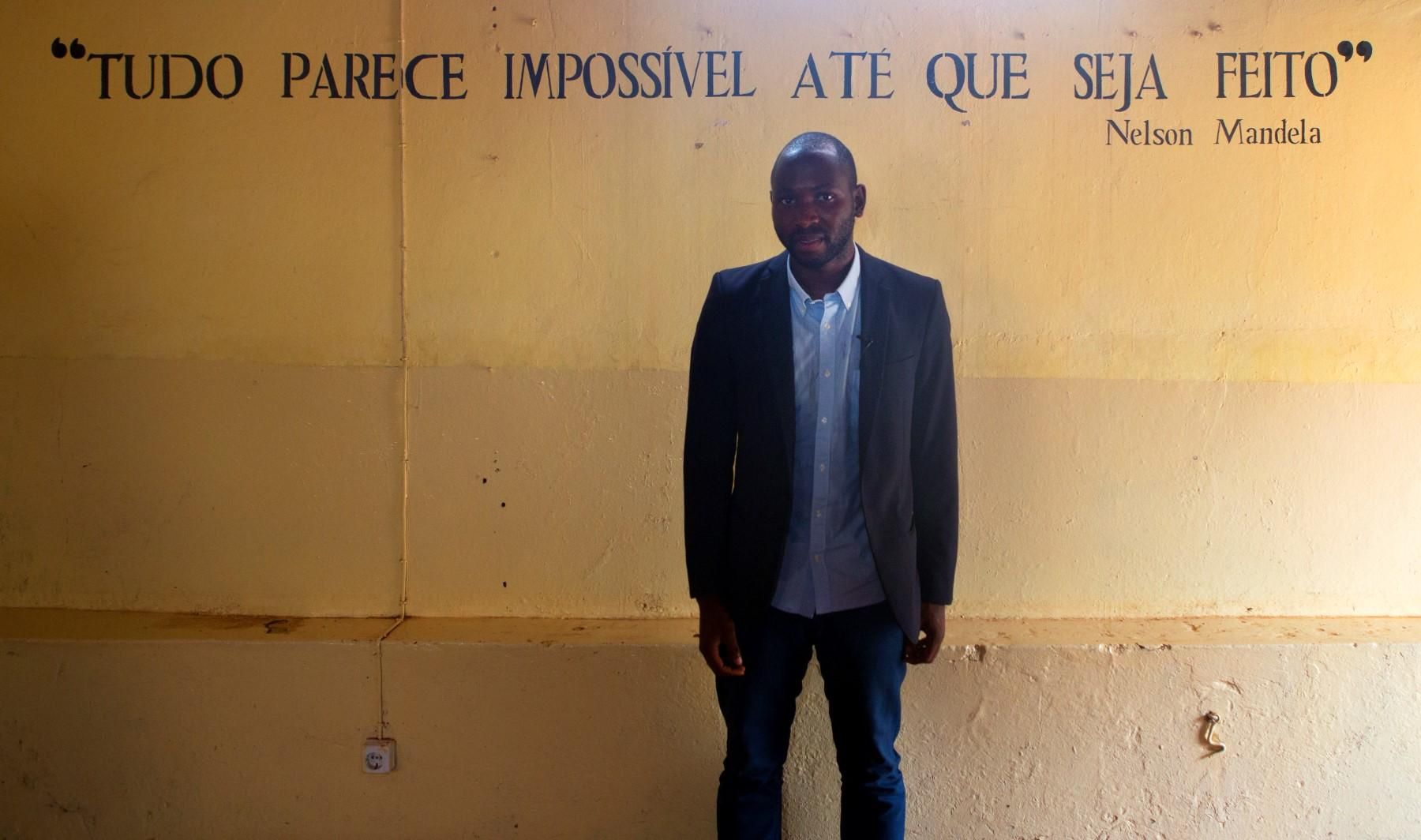 Mamadu Baldé - Academia Ubuntu - Bissau - Guiné-Bissau