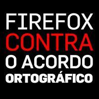 Firefox contra o AO90