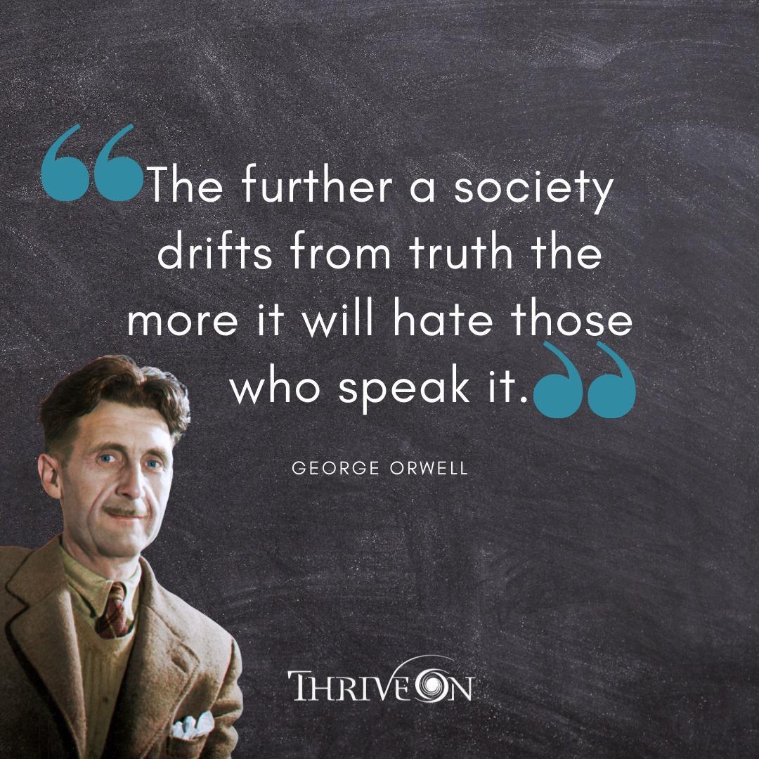 Quanto mais a sociedade se afasta da verdade mais odeia aqueles que a dizem.