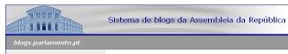 sistema de blogs da Assembleia da República