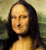 a avózinha Mona Lisa