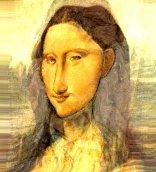 Mona Lisa à moda de Modigliani