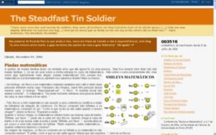 http://steadfasttinsoldier.blogspot.com/