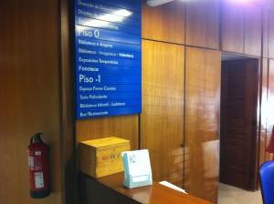 Casa Municipal da Cultura - recepção