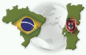 MAPA BRASIL-PORTUGAL