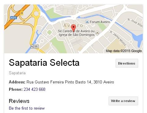 sapatariaselectaGoogle